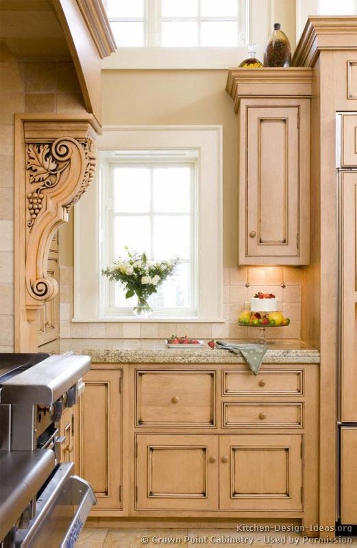 crown point cabinets kitchen idea of the day neutral amp bright light wood 14264