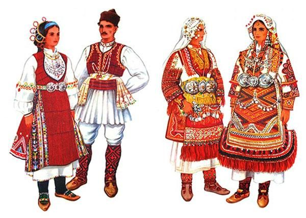 bulgaria folk costume - Google Search