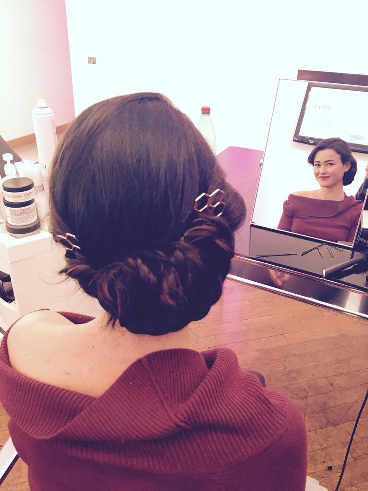 Exagones hairpin