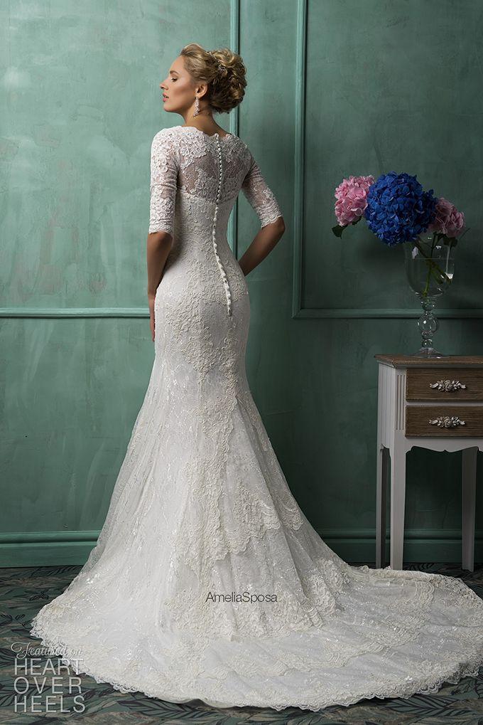 Amelia Sposa 2014 Wedding Dress Style Gemma