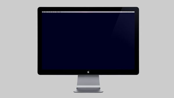 Apple Monitor Mockup Template from MockupEverything.com