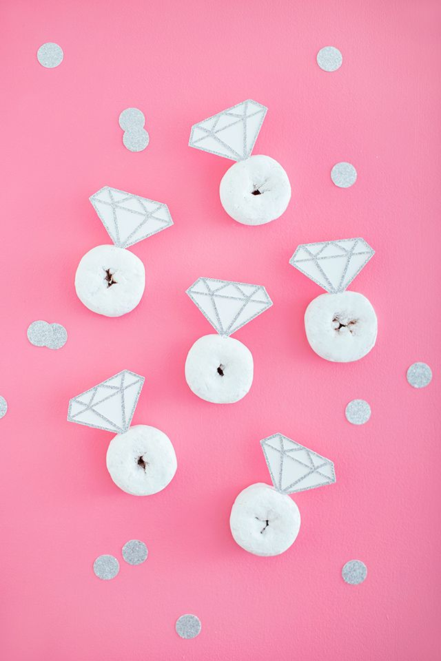 Diamond Donuts | like-the-cheese.com for Silhouette