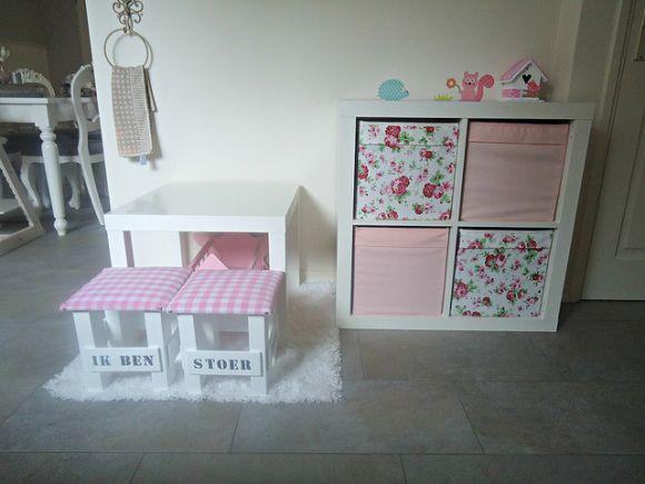 Speelhoek met Ikea meubels - Lippenstift en Luiers - mamablog