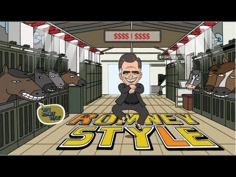 Mitt Romney Style (Gangnam Style Parody) I love College Humor! Nailed it! #Election2012 #vote