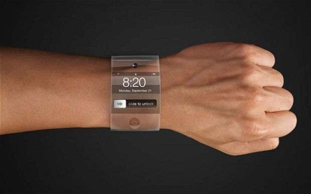 Introducing the Apple iWatch, your interface with the digital world.