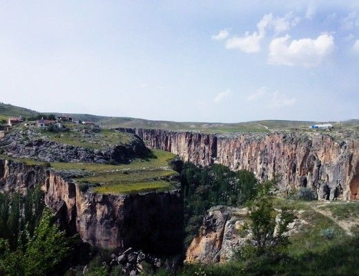 Looking for outdoor activities? Here is something you can do at Ihlara Valley, in Turkey