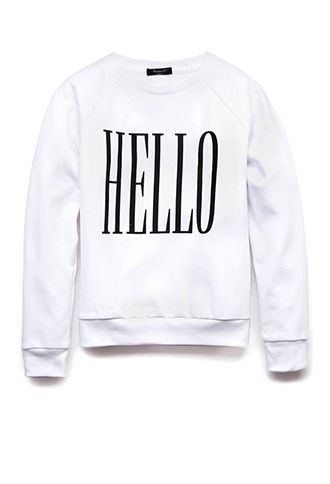 Hello Goodbye Sweatshirt (Kids) | FOREVER21 girls - 2000075286