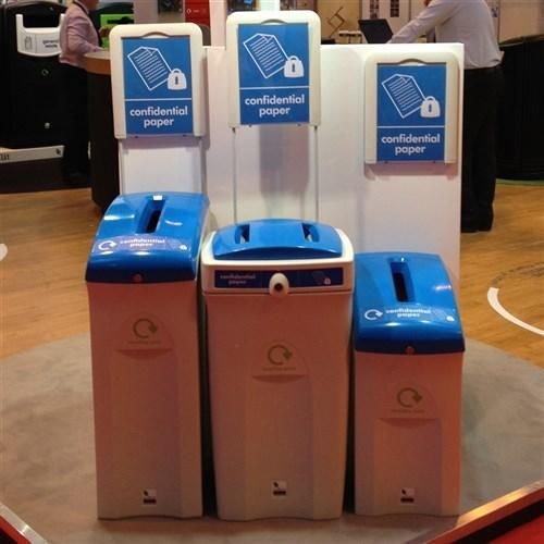 Confidential Lockable Office Recycling Bins. Office Bins Uk