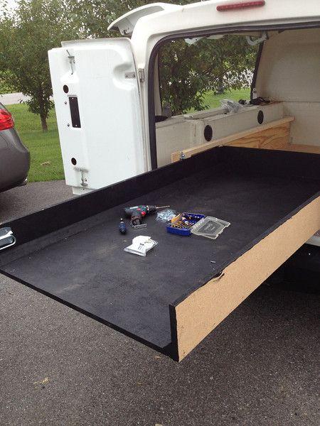 Home Built Truck Bed Slide The Garage Journal Board Truck Bed