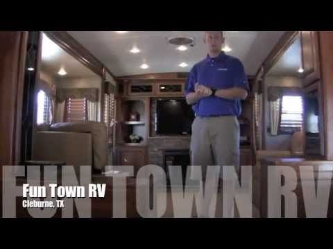 2012 Dutchmen Infinity 3750FL RV (Front Living Room Floor Plan) Part 45