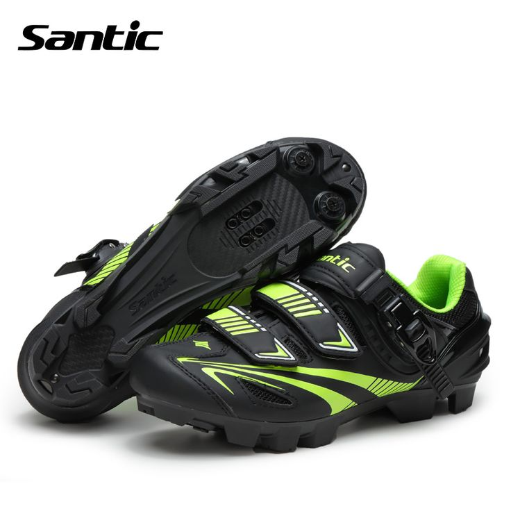 Santic 2017 Men Cycling Shoes MTB Shoes Microfiber Breathable Auto-lock Bicycle Sports Mountain Bike Shoes Zapatillas MTB