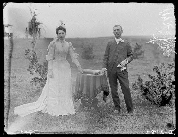 A Pioneer Wedding Photographer Solomon D Butcher Depicted The Of Mr And
