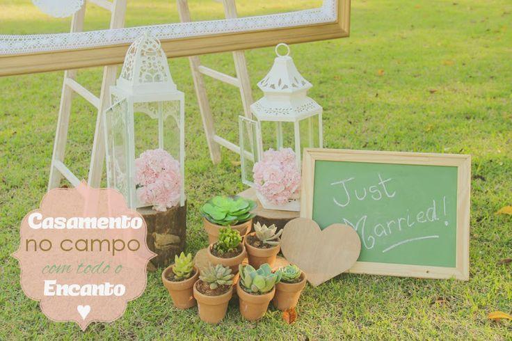 Casamento no Campo com Todo o Encanto