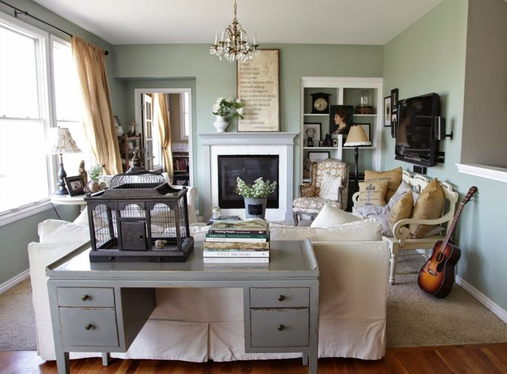 Floating furniture helps create more conversation areas. More tips on how to space plan a room on the blog.   The Black Goose Design Blog