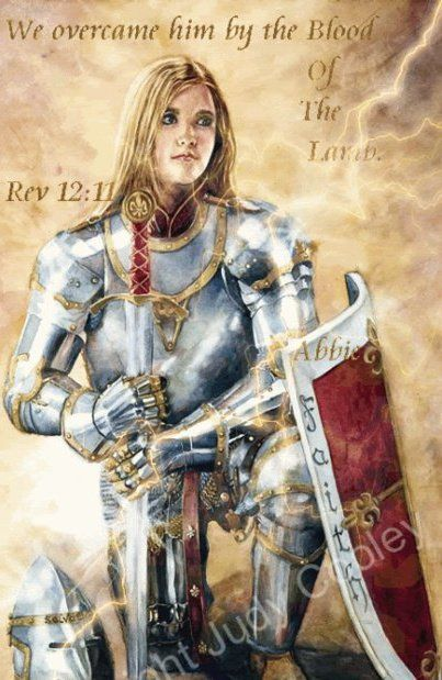 In order to be a Warrior for Christ we must have our quiet time daily with Jesus, pray, ask protection for our family, etc. By doing this we are putting on the full armor of God trusting Him to take care of us.