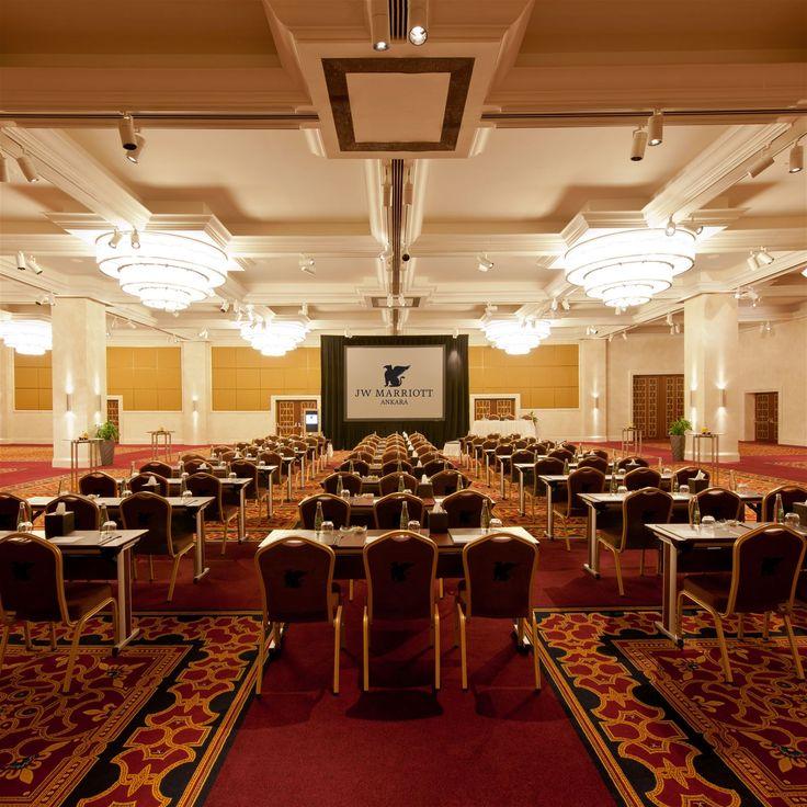 JW Marriott Ankara, Turkey. #crystal #chandelier #conference #room #event #meeting #lighting #design #hotel