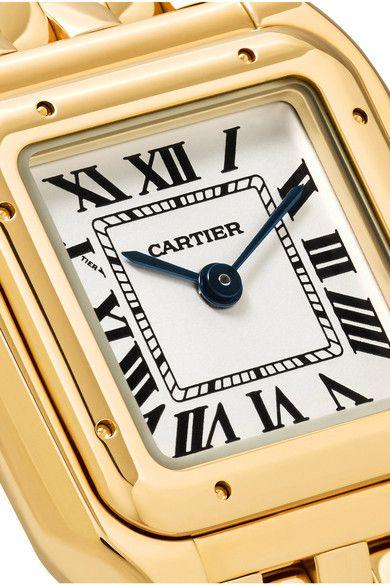 Cartier - Panthère De Cartier Small 18-karat Gold Watch - one size