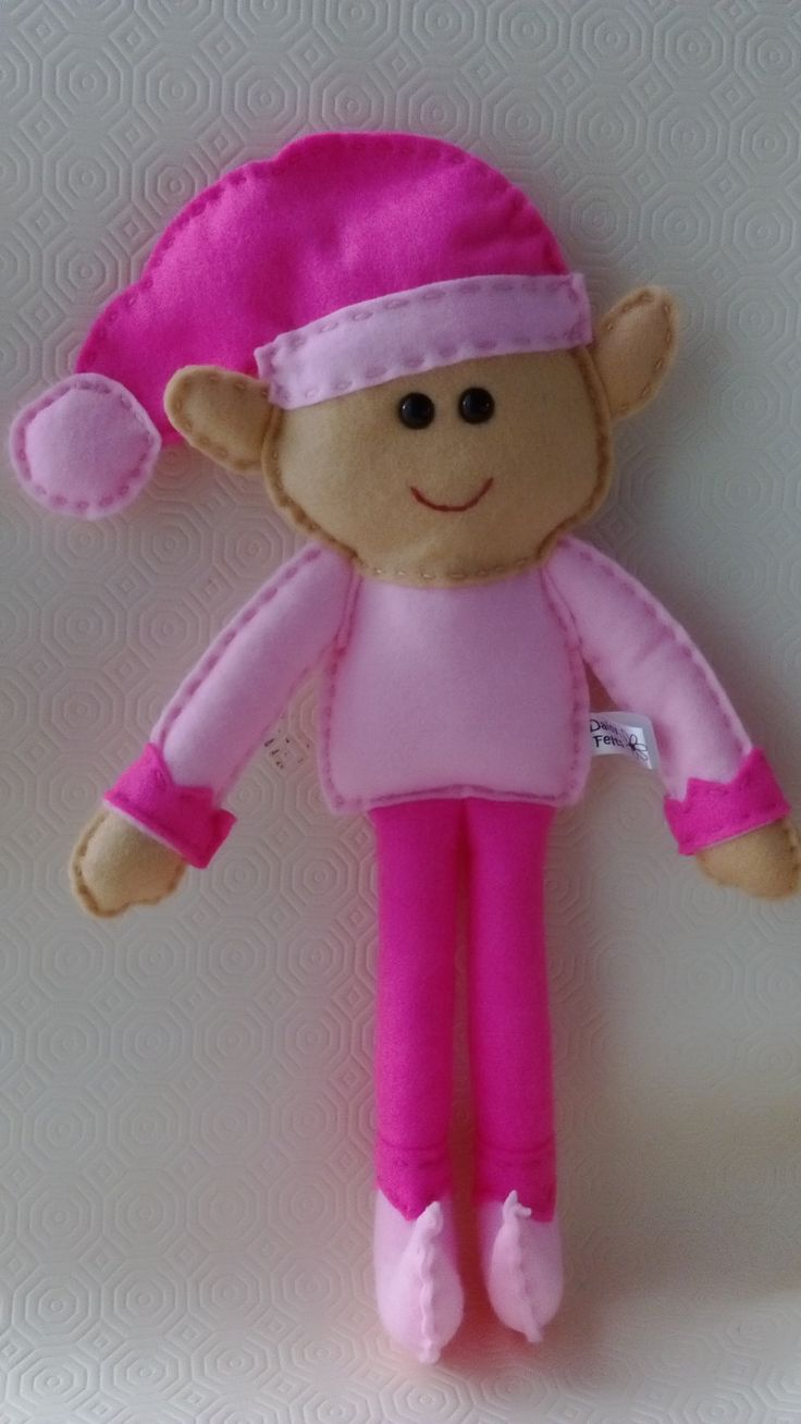 Summer Elf / Felt Elf / Toy Elf / CE Tested Elf by DaisyFelts on Etsy