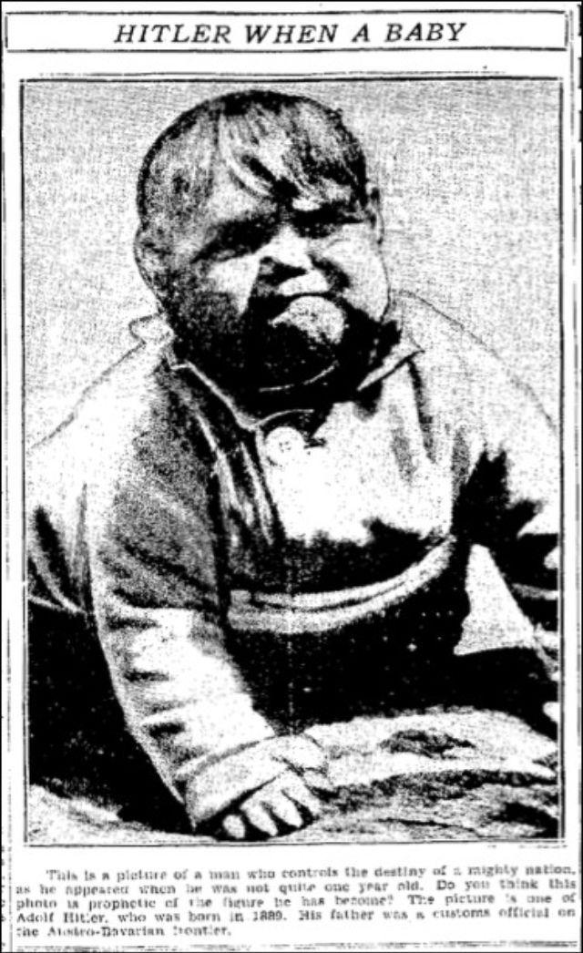 Adolf Hitler Baby Photo Hoax, 1933