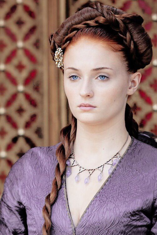 Sophie Turner as Sansa Stark, Game of Thrones || Shootsweet.co.uk: The Baby Shower Printables!
