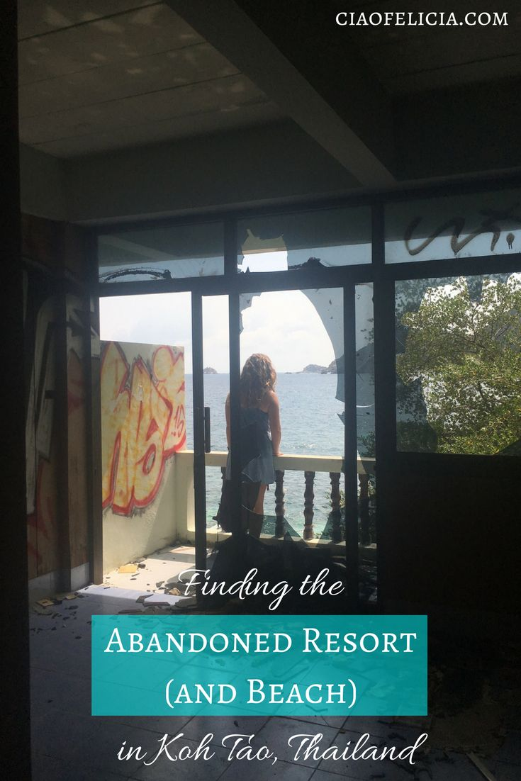 A guide that tells how to find the abandoned resort and beach in Koh Tao, Thailand!