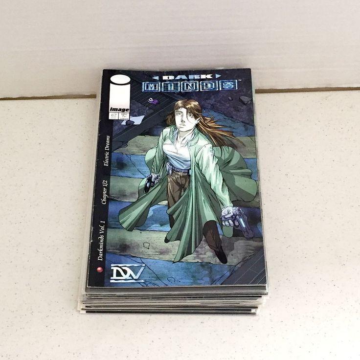 Image Comics Dreamwave Productions Dark Minds Lot Pat Lee Volumns 1 And 2 NM