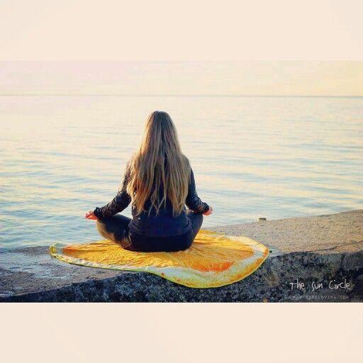 Inhale. Exhale. Life is always better at the beach. #TheSunCircle only at www.casalovina.com  Tags: #goodvibes #Happiness #myhappiness #zen #saltylife #beachlife #orange #towel #roundie #blanket #picnic #meditate #yoga #yogini #yogaeverydamnday #yogi #beachbum #ootd #potd #Monday #musthave #beachwear #summer #cool #wanderlust #torontolife #TO #hashtag