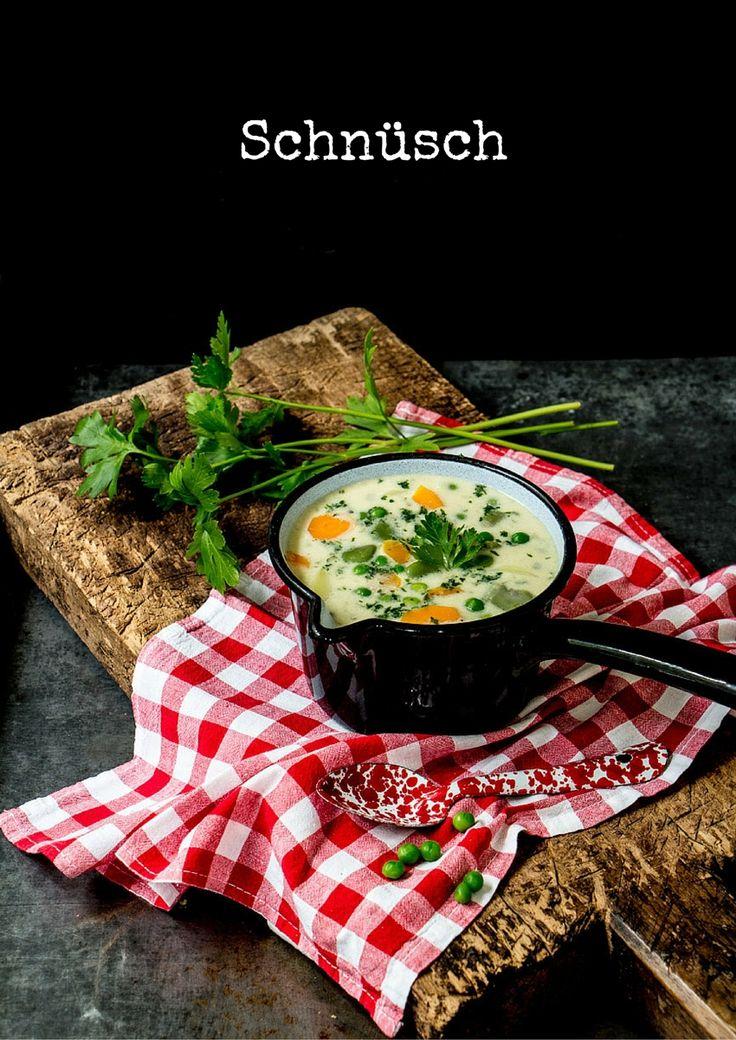 REZEPT für Schnüsch -Gemüseeintopf- aus Norddeutschland