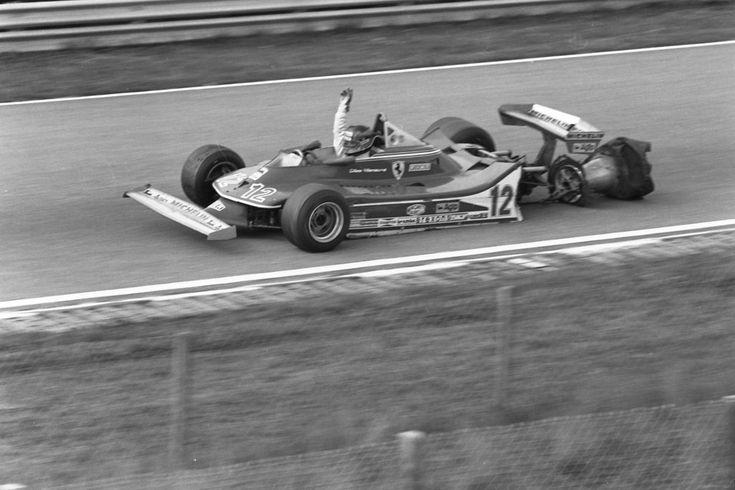 Joseph Gilles Henri Villeneuve (CAN) (Scuderia Ferrari), Ferrari 312T4 - Ferrari 015, 3.0 Flat-12 (RET) 1979 Dutch Grand Prix, Circuit Zandvoort © Scuderia Ferrari/Cor van Veen | Source: Flickr