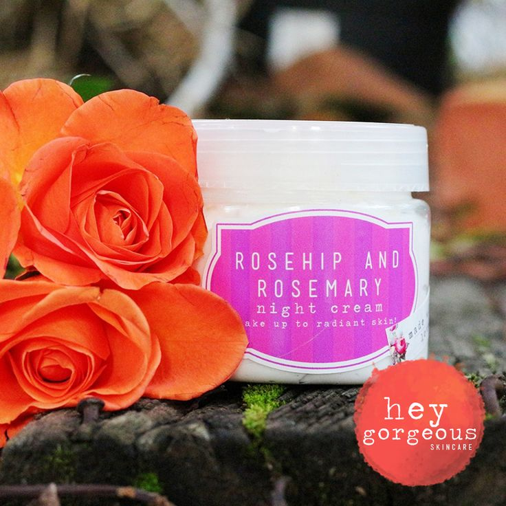 Really get your beauty sleep with our gorgeous Rosehip & Rosemary Night Cream.