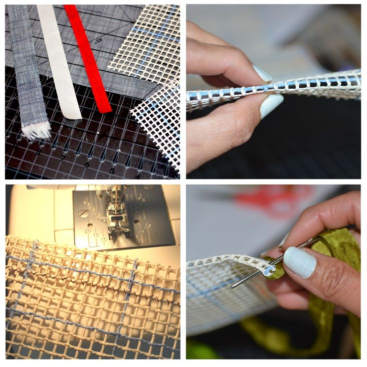 Top 10 Locker Hooking Tips - Cutting Strips, Preparing Canvas, Framing Edges...