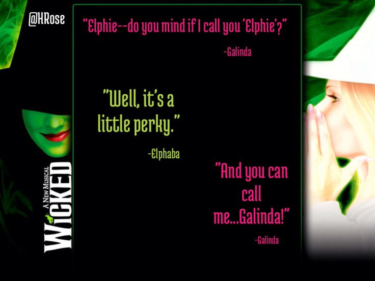 Wicked Broadway Quotes on QuotesTopics