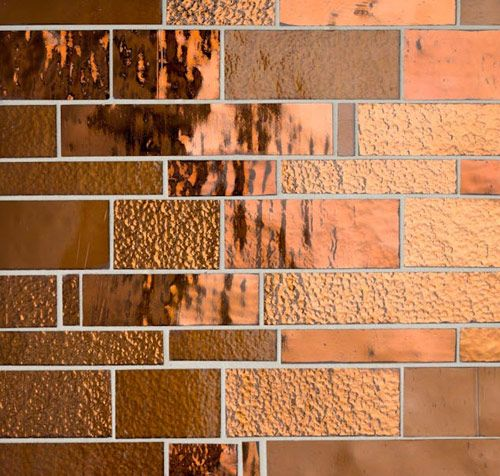 Bronze Mosaic Tile Slab Look Of Masaic But Easy To