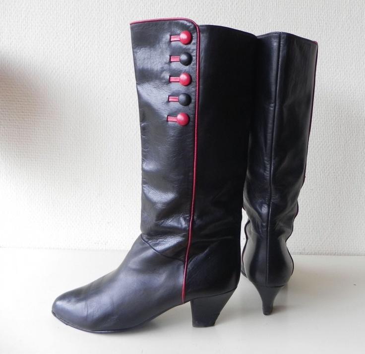 Vintage boots Peter Kaiser #vintage #boots #laarzen