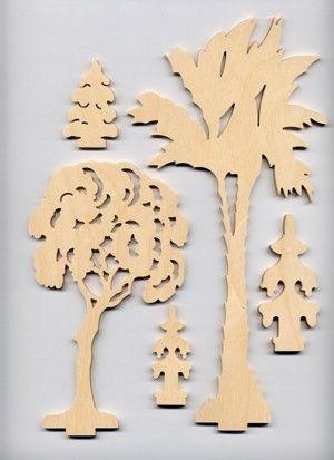 Baumset Bäume 2