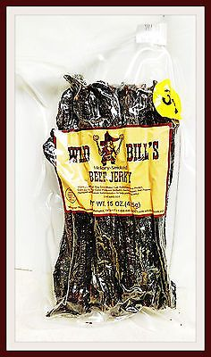 Buffalo Beef and Turkey Jerky 115716: Wild Bill S Beef Jerky Hickorysmoked 30Ct- 15Oz, Counter Price 2$ Per Strip -> BUY IT NOW ONLY: $33.5 on eBay!