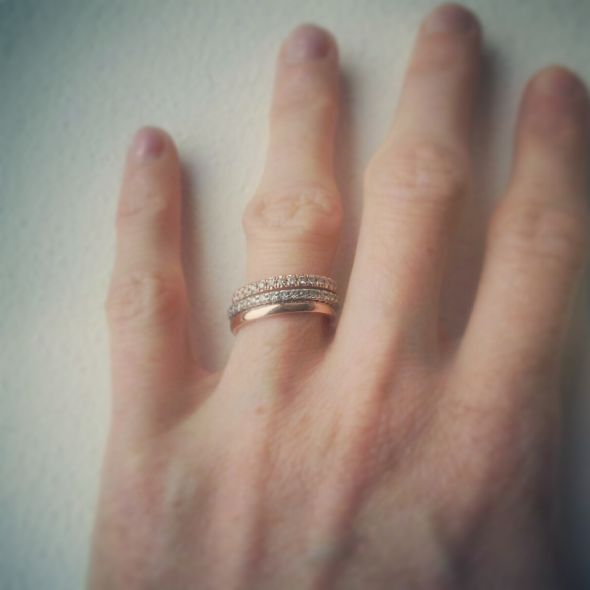 46 best stacked engagement rings images on Pinterest Jewelry