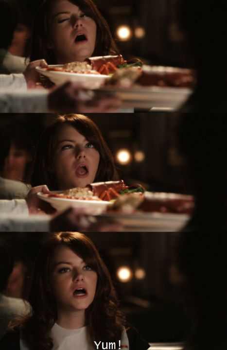 Easy A - the face I make just about every time I find a new food to make on Pinterest