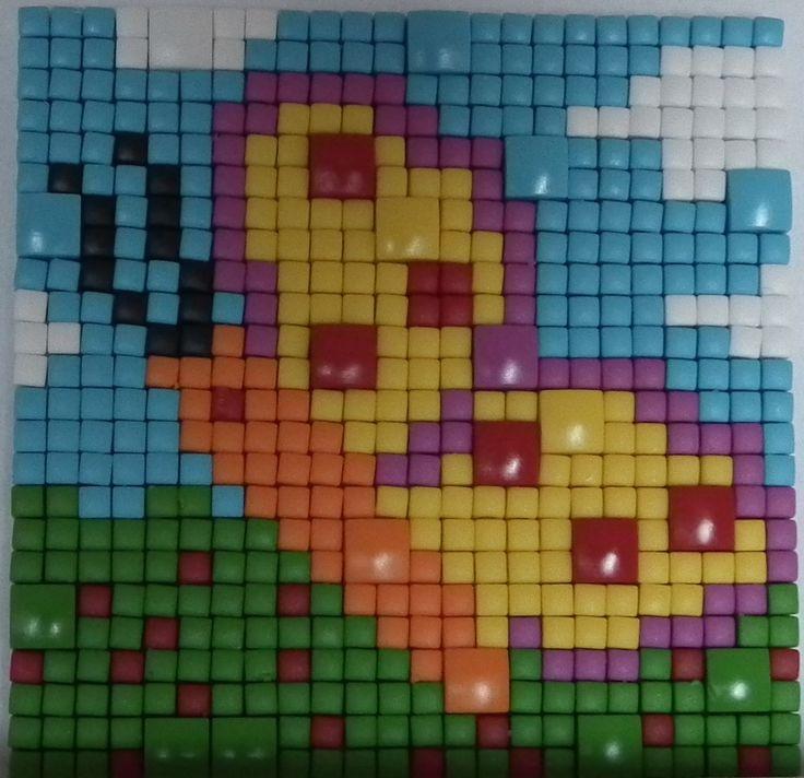 Pixelhobby Pixelmatjes gecombineerd met Pixel XL  zomerspeelgoed.com uw Pixelhobby leverancier. http://www.zomerspeelgoed.com/webshop/pixelhobby