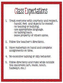 Discipline/Behavior Plan for Upper Elementary Grades