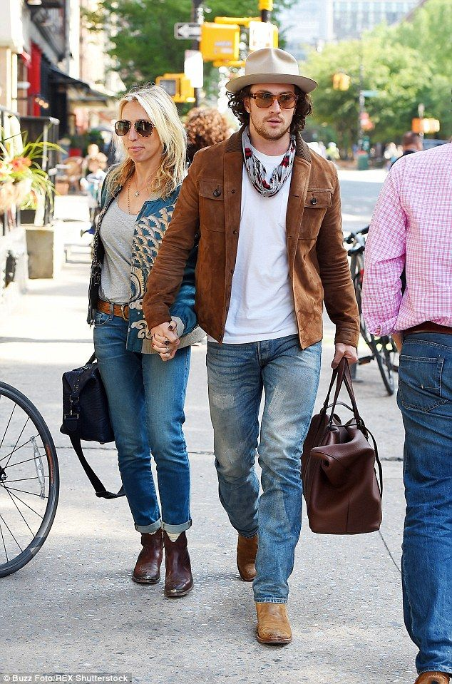 Sam Taylor-Johnson, 48, and husband Aaron, 24, take quick hotel break #dailymail