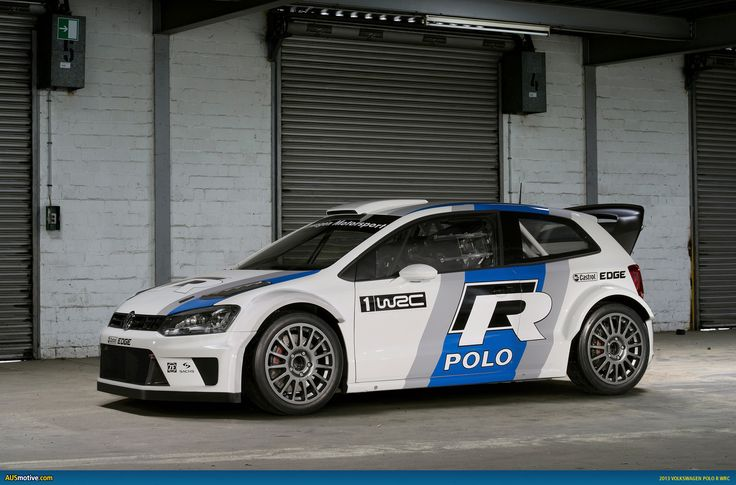 VW Polo R WRC... yeah... I like rally cars.