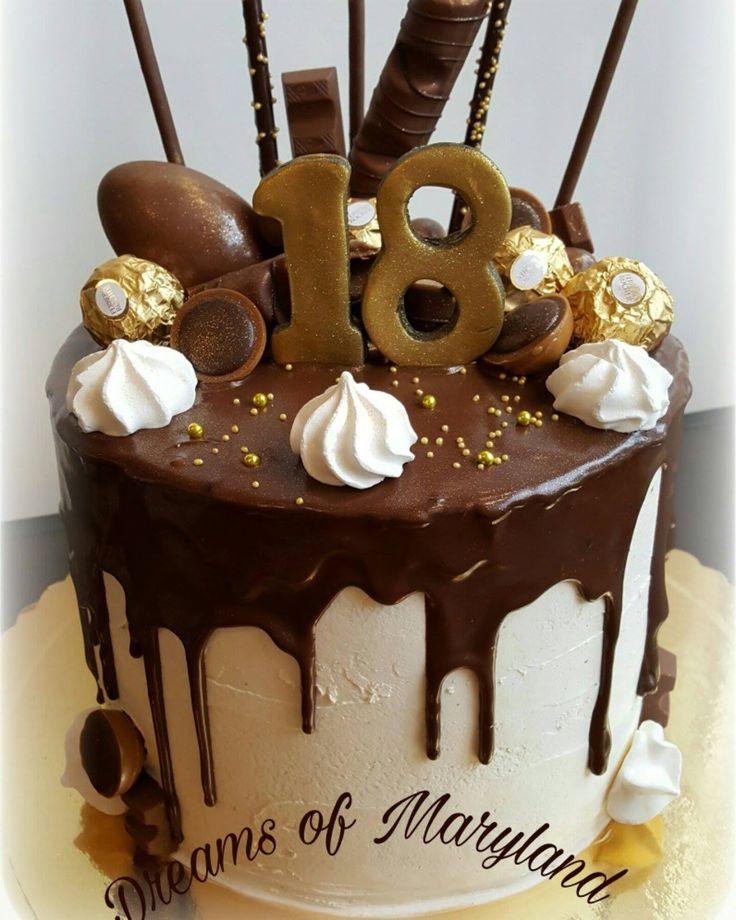 Hallo meine Lieben, vor kurzem durfte ich einen Drip Cake-Kuchen backen und …   – Torten