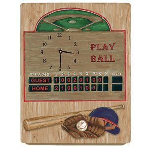 Custom Baseball Scoreboard Clock