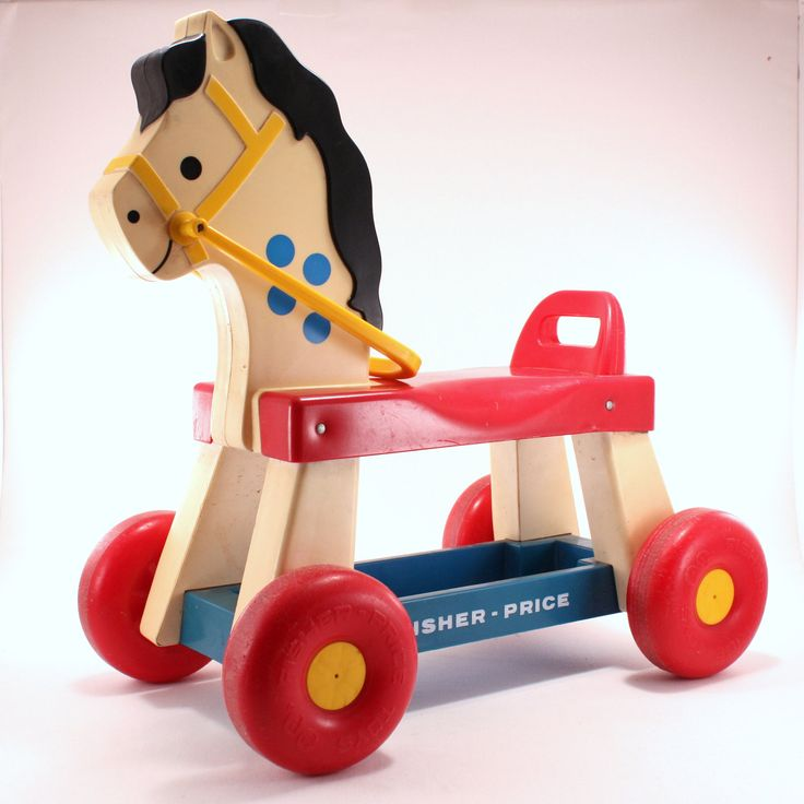 Vintage Fisher Price Ride-On Horse