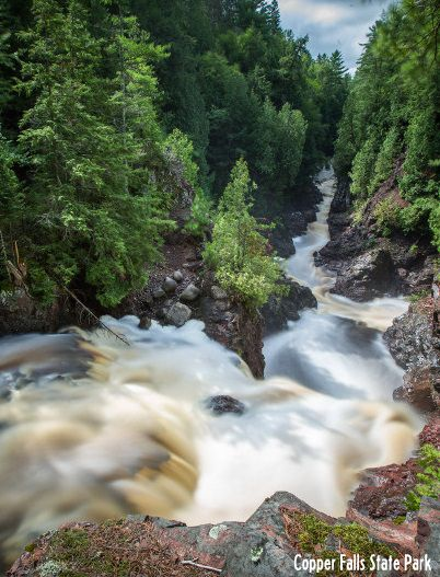 Whether you like to backpack or relax in a cabin, check out these great Wisconsin campgrounds near waterfalls and other beautiful scenery.