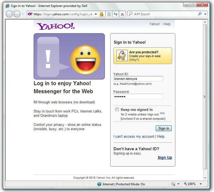 Yahoo! Messenger | Yahoo Messenger Web -- Without Downloading Yahoo Messenger Web