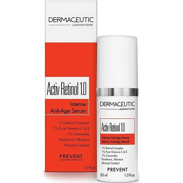 Dermaceutic Activ Retinol 1 0 Intense Age Defense Serum Retinol Anti Aging Serum Serum