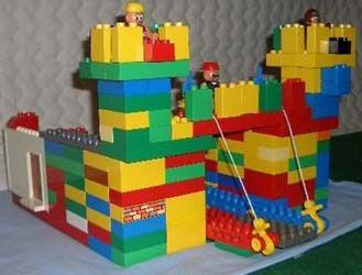 medieval castle duplo activity