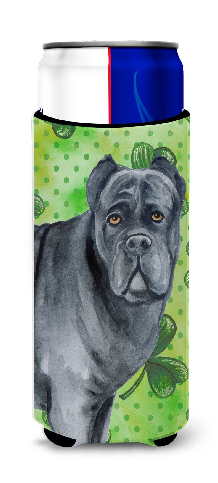 Cane Corso St Patrick's Michelob Ultra Hugger for slim cans BB9868MUK